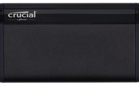 美光宣布进军移动固态硬盘市场 Crucial® 英睿达™ X8 移动固态硬盘存储进化