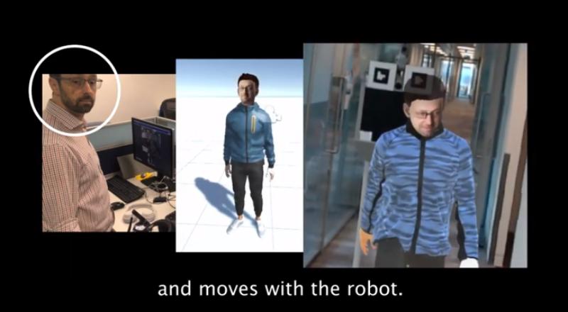 """""""克隆""""个自己去上班!微软VR远程会议机器人,还原动作口型眼神"""