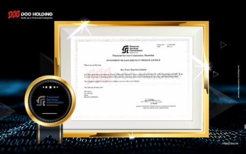 Doo Prime 获 FSC 牌照,加速全球化布局