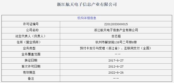 传PingPong已掌控浙江航天电子,曲线获得支付牌照