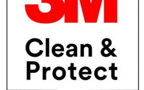 3M推出全新的3M清洁与保护徽标项目