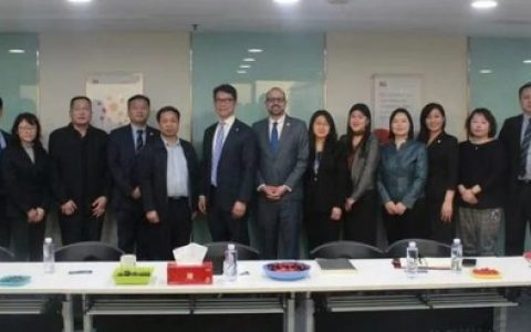 BSI中国接待中国认证认可协会常务副会长兼秘书长黄继先调研