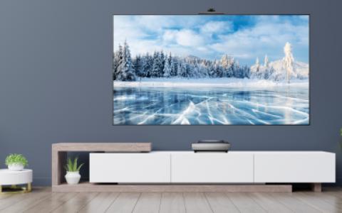 2021年客厅装修配搭配海信激光电视L9F系列,人人看了都羡慕