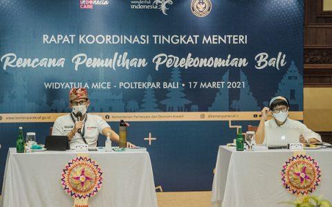 印尼旅游部长召开协调会议,探讨如何扩大旅游走廊计划