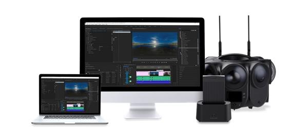 看到科技发布12K 3D影视级VR摄影机Kandao Obsidian Pro