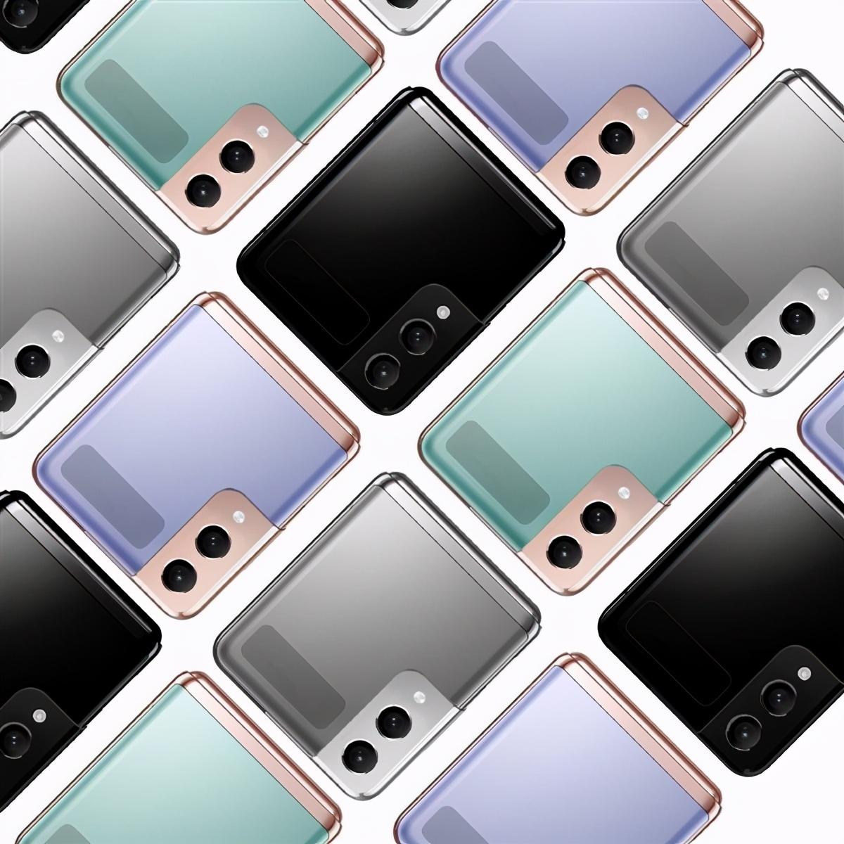 三星Galaxy Z Flip 2渲染图出炉,有LTPO屏+骁龙888应该不会差