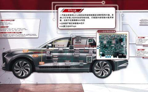 黑芝麻智能助力一汽引领国产智能汽车产业创新