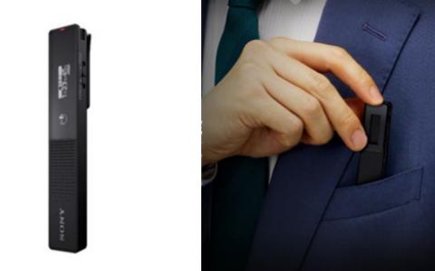 索尼发布ICD-TX660随身数码录音棒