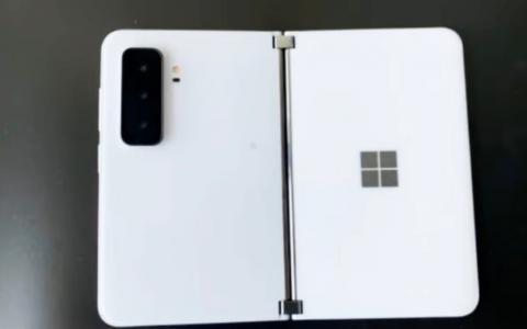 微软第二代Surface Duo 2谍照曝光