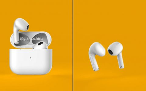 第三代AirPods可能会和iPhone 13系列一起发布