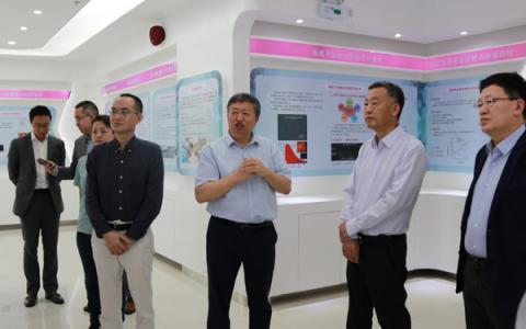 华润集团王祥明董事长访问深圳清华大学研究院