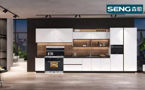 开放式厨房用什么油烟机效果好?森歌冠军品质打造有格调的理想厨房