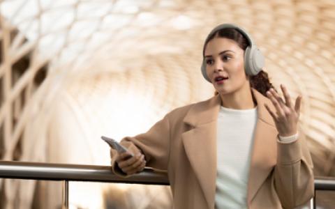 """降噪耳机不可错过,索尼WH-1000XM4按下""""静音键"""",给耳朵带来极致享受"""
