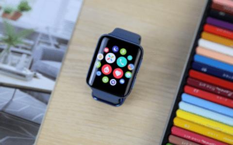 续航强充电快,提高学习效率 OPPO Watch2一块手表顶半部手机