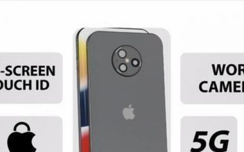 iPhone14Pro概念机:屏下镜头+直面真全屏,屏占比高达97%
