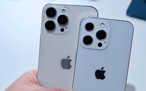 买iPhone13系列不能光看配置,这个参数也很重要