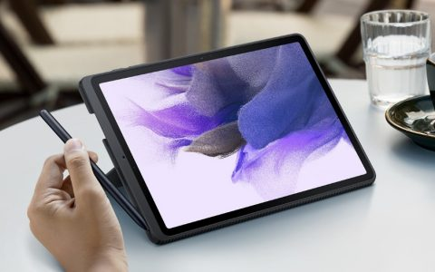 三星Galaxy Tab S7 FE WiFi版即将上市