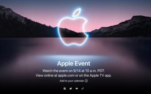 在新品发布会邀请函中,苹果埋了个AR彩蛋