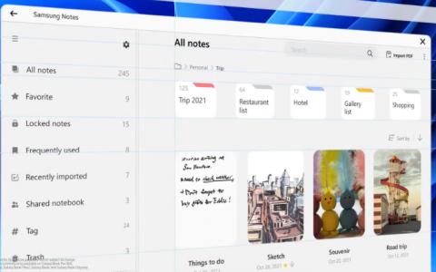三星One UI 4.0 系统正式发布,登陆 Win11 笔记本,拥有定制风格
